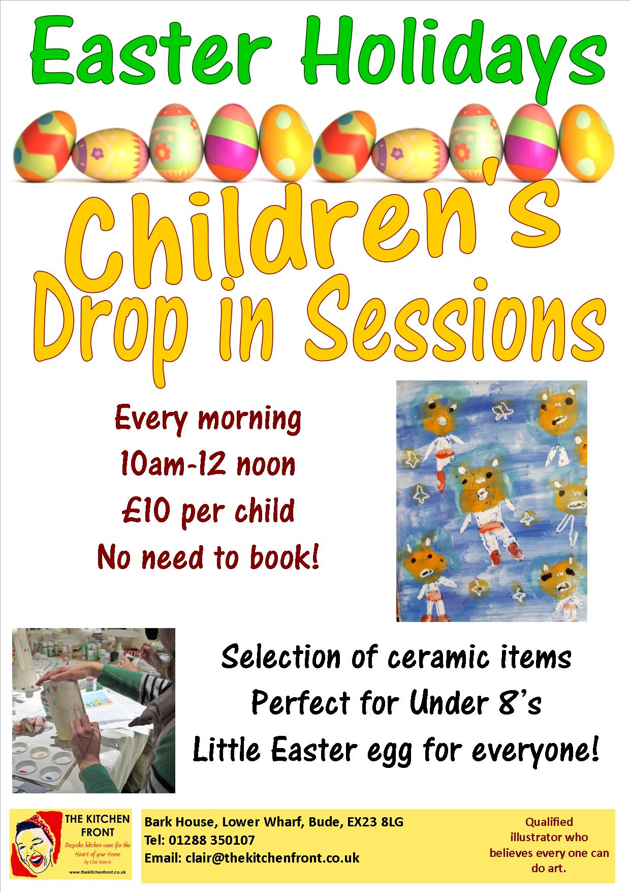 Children\'s Easter Drop in - The Kitchen Front