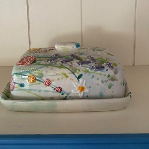 Paris in Spring Butter Dish